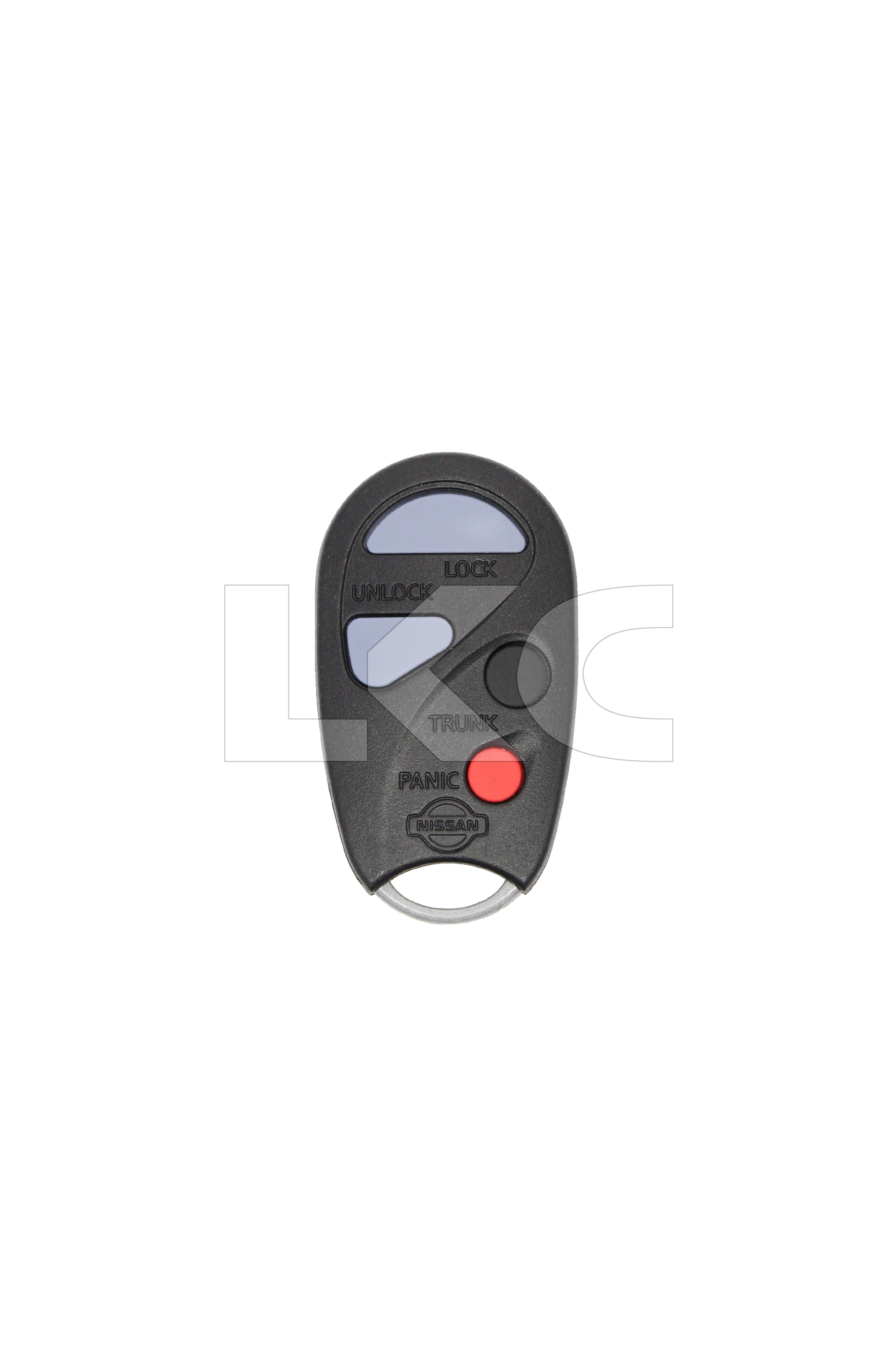 New Uncut key with 3 BUTTON remote MOZB41TG With OEM chip For 06-10 Scion TC